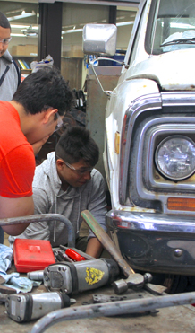 V - Auto shop course provides real world experiences